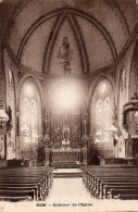 HEM  -  Intérieur De  L' Eglise - Andere Gemeenten