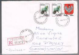 Polska, 1995, For Prilly - Lettres & Documents