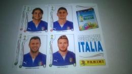 Brasil 2014 Aggiornamenti Italia Figurine  Panini - Panini