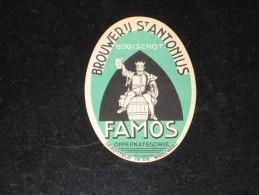 ET02: FAMOS Brouwerij St ANTONIUS - Booischot - Bier