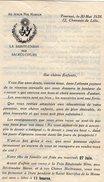 VP5756 - Lettre De Soeur Anna Maria De La Sainte Union Des Sacrés - Coeurs à TOURNAI Avec Horaire Des Trains X Tramways - Non Classés