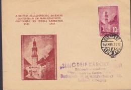 Hungary Ungarn Centenarium Die Freiheitskämpfe 1848-1948 BUDAPEST 1948 Card Karte (2 Scans)