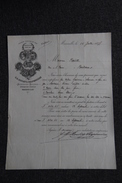 Lettre Ancienne Publicitaire, MARSEILLE, Savonnerie Et Huilerie C.H ROULET Et CHAPONNIERE - 1800 – 1899