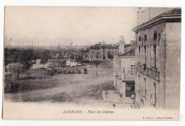 71  LOUHANS   Place Du Château - Louhans
