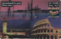 *ITALIA - PLANET COMMUNICATION* - Scheda NUOVA (MINT) - Cartes GSM Prépayées & Recharges