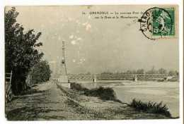 GRENOBLE - Le Nouveau Pont Sur Le Drac Et Le Moucherotte - Grenoble