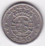 Colonie Portugaise, Angola, 2 ½ Escudos 1967 . KM# 77 - Angola