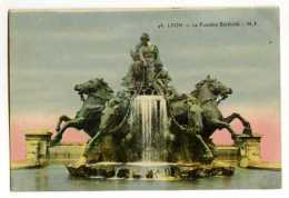 LYON - La Fontaine Bartholdi - Lyon 1
