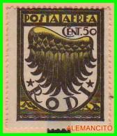 ITALIA  -  EUROPA  SELLO  FRANCO BOLLO  DEL AÑO 1934 - Mint/hinged