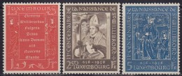4822. Luxembourg 1958 Willibrord, MNH (**) Michel 583-585