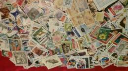 Monde - 1000 Timbres TOUS DIFFERENTS - 3 Scans - Lots & Kiloware (mixtures) - Min. 1000 Stamps