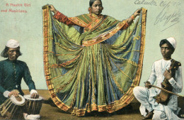 INDE(TYPE) MUSICIEN_DANSEUSE - Indien