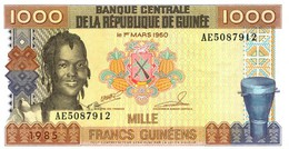 BILLETS DE BANQUE Guinée 1000 Francs - Guinea