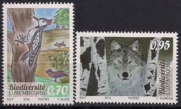 """2016 Luxemburg Mi. 2100-1 **MNH    """"Biodiversität"""" - Luxemburg"""