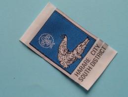 HARARE City South District - Zimbabwe ( Boy Scouts Badge / Zie Foto Voor Detail ) ! - Padvinderij
