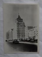 Photographie Ancienne LISBONNE Portugal Quartiers Résidentiels  Immeuble Automobile- Photo 1952 - Orte