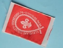 Frienship 74 - Wynyard Park - Cleveland County ( Boy Scouts Badge / Zie Foto Voor Detail ) ! - Padvinderij