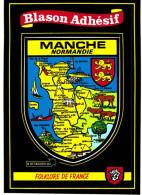 Blason Adhésif Manche - France
