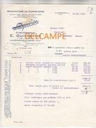 Facture Ancienne - VILLEFRANCHE Sur Saône (Rhône) - Ets E. GUIGNETON - LILY-CHIC -  Manufacture De Confections - Kleidung & Textil
