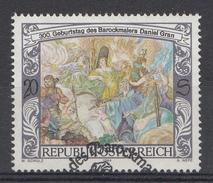 AUTRICHE 1994  Mi.nr.: 2125 Geburtstag Von Daniel Gran  Oblitéré-Used-Gestempeld 1963 - 1945-.... 2ème République