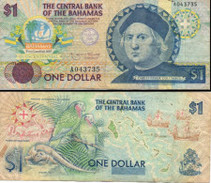 BILLETS DE BANQUE CENTRAL OF THE BAHAMAS  1 $ - Bahamas