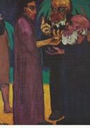 "Painting: Emil Nolde.  ""The Tribute Coin - Die Zinsmünze""  A-3429 - Paintings"