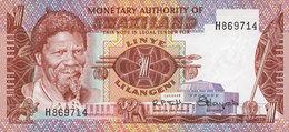 BILLETS DE BANQUE MONETARY AUTHORITY OF SWAZILAND  1 LILANGENI - Swaziland