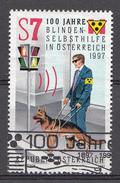 AUTRICHE 1997  Mi.nr.: 2232  100.Jahre Blindenselbsthilfe  Oblitéré-Used-Gestempeld 1963 - 1945-.... 2ème République