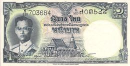 Thailand P74,1 Baht, King Rama IX Bhumibol Adulyadej, Phra Samut Chedi Temple UNC - Thailand