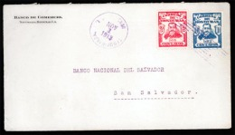 Honduras. 1913. Tegucigalpa. S.Salvador. Intracentral America Dest. Scarce.. Sale! - Honduras
