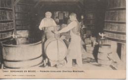 CPA - VENDANGES EN MEDOC - PREMIERS ECOULAGES - CHATEAU MONTROSE - 1891 - HENRY GUILLIER - PRECURSEUR - Francia