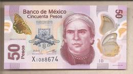 Messico - Banconota Non Circolata FdS Da 50 Pesos - 2012 - Messico