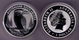 AUSTRALIA 2012 - 1 ONZA DE PLATA PURA - 1 SILVER DOLLAR - KOOKABURRA - Sin Clasificación