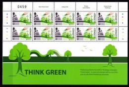 Europa 2016 - Guernesey - Think Green - Feuillet Neufs // Mnh - 2016