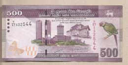 Sri Lanka - Banconota Circolata Da 500 Rupie - 2010 - Sri Lanka