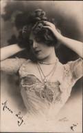 ! 1901 Ansichtskarte, Manon Lody, Reutlinger Paris, Serie 530, Clement Tournier, Geneve, Wien, Autograph - Femmes Célèbres
