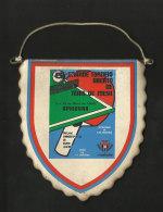 Portugal Tournoi Tennis De Table Ping Pong Amadora Bairro Janeiro 1988 Fanion Table Tennis Tournament Pennant - Tischtennis