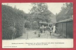 Boom - Ecole Moyenne De Garçons- Les Petits Elèves Au Jardin - 1908 ( Verso Zien ) - Boom