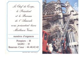 Petit Calendrier Des Pompiers De L'Oise - Calendari