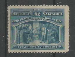 Colomb 2p Blue - El Salvador