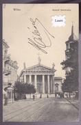 LITUANIE : WILNO VILNO VILNIUS Kosciol Katedralny 1912 (De-6)  2 Scan - Lithuania
