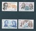 Monaco Timbres De 1985  Neufs** N°1501 A 1504 - Ungebraucht
