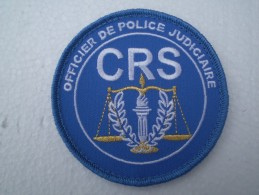 Patch OPJ Des CRS,neuf - Police
