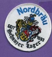 Autres Collections - écusson Tissu - Nordbräu Seit 1693 - Schanzer Lager - Bière - Scudetti In Tela