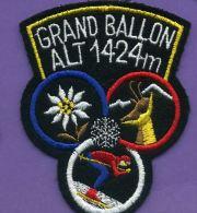 Autres Collections - écusson Tissu - Grand Ballon 1424m - Escudos En Tela