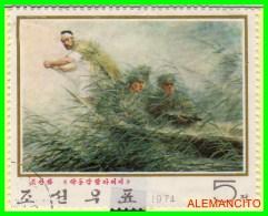 COREA  -  ASIA   SELLO  AÑO 1974 - Corea (...-1945)