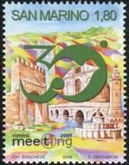 2009 - SAN MARINO - 30° MEETING DELL'AMICIZIA / 30th MEETING OF FRIENDSHIP. MNH - San Marino