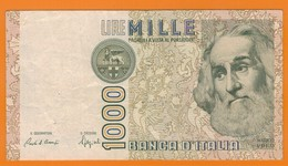 Nu-Italie-Italia-Billet De 1000 Lire Marco Polo De 1982 - [ 2] 1946-… : Repubblica