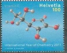 2011 - SVIZZERA / SWITZERLAND - ANNO DELLA CHIMICA / YEAR OF CHEMISTRY. MNH - Svizzera