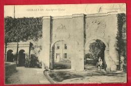 HBX-09  Gibraltar Southport Gates.  Cachet Gibraltar 1924 - Gibraltar